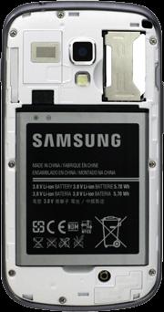 Samsung Galaxy Trend Plus - SIM-Karte - Einlegen - 6 / 9