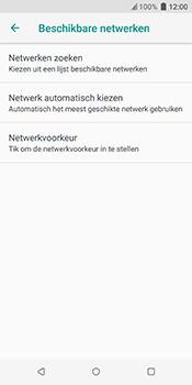 HTC u12-plus - Netwerk selecteren - Handmatig een netwerk selecteren - Stap 8