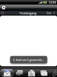 HTC A3333 Wildfire - E-Mail - E-Mail versenden - Schritt 16