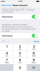 Apple iPhone SE - iOS 10 - Apps - Konto anlegen und einrichten - Schritt 16