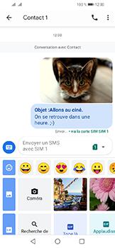 Huawei Y6 (2019) - Contact, Appels, SMS/MMS - Envoyer un MMS - Étape 19