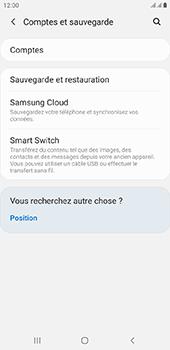 Samsung Galaxy J6 Plus - Données - créer une sauvegarde avec votre compte - Étape 5