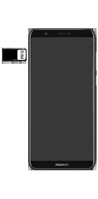 Huawei P Smart - SIM-Karte - Einlegen - Schritt 6