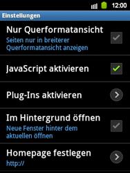 Samsung Galaxy Y - Internet - Manuelle Konfiguration - 14 / 17