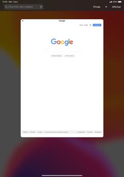 Apple iPad Pro 11 (2018) - iPadOS 13 - Internet et roaming de données - Navigation sur Internet - Étape 12