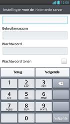 LG D505 Optimus F6 - e-mail - handmatig instellen - stap 10