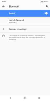 Sony Xperia XZ3 - Bluetooth - connexion Bluetooth - Étape 13