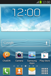 Samsung S6310 Galaxy Young - MMS - automatisch instellen - Stap 1