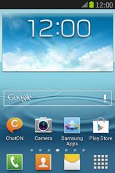 Samsung S6310 Galaxy Young - Internet - handmatig instellen - Stap 1
