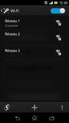 Sony C1905 Xperia M - Wifi - configuration manuelle - Étape 7