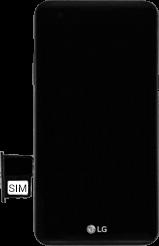 LG X Power - SIM-Karte - Einlegen - 1 / 1