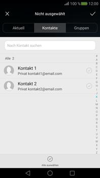 Huawei Mate S - E-Mail - E-Mail versenden - Schritt 6