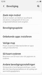 Samsung galaxy-xcover-4s-dual-sim-sm-g398fn - Beveiliging en ouderlijk toezicht - Hoe wijzig ik mijn SIM PIN-code - Stap 5