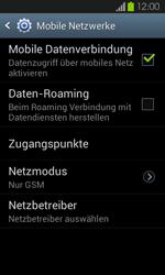 Samsung I9100 Galaxy S2 mit Android 4.1 - Netzwerk - Netzwerkeinstellungen ändern - Schritt 9
