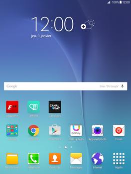 Samsung Galaxy Tab A - E-mails - Envoyer un e-mail - Étape 1