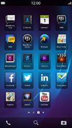 BlackBerry Z30 - apps - account instellen - stap 2