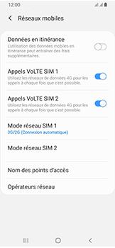 Samsung Galaxy A40 - Internet et connexion - Activer la 4G - Étape 6