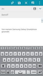 Samsung Galaxy S5 - E-Mail - E-Mail versenden - 5 / 19