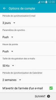 Samsung Galaxy Note 4 - E-mail - 032c. Email wizard - Outlook - Étape 8