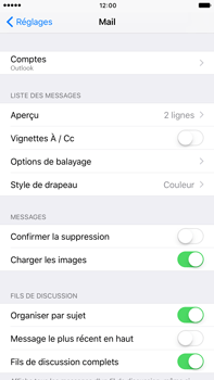 Apple iPhone 7 Plus - E-mail - Configuration manuelle (outlook) - Étape 10