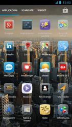 Alcatel One Touch Idol - Rete - Selezione manuale della rete - Fase 5