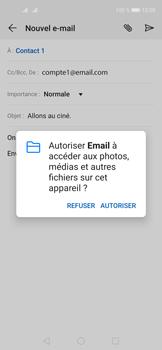 Huawei Nova 5T - E-mails - Envoyer un e-mail - Étape 12