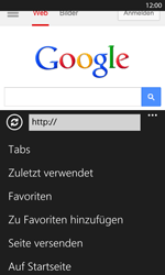 Nokia Lumia 1020 - Internet und Datenroaming - Verwenden des Internets - Schritt 8