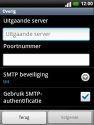LG C660 Optimus Pro - E-mail - e-mail instellen: POP3 - Stap 11