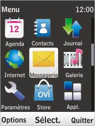 Nokia 6303i classic - SMS - Configuration manuelle - Étape 3