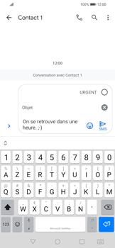 Huawei P Smart 2020 - Contact, Appels, SMS/MMS - Envoyer un MMS - Étape 10