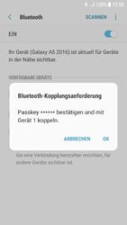 Samsung Galaxy A5 (2016) - Android Nougat - Bluetooth - Verbinden von Geräten - Schritt 8