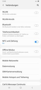 Samsung Galaxy A80 - Internet und Datenroaming - Deaktivieren von Datenroaming - Schritt 5