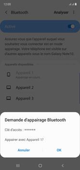 Samsung Galaxy Note 10 - Internet et connexion - Connexion avec un équipement multimédia via Bluetooth - Étape 9