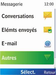 Nokia X2-00 - SMS - Configuration manuelle - Étape 4
