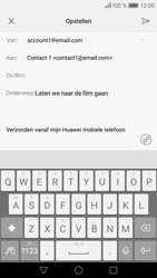 Huawei P9 - E-mail - hoe te versturen - Stap 9
