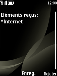 Nokia 6303 classic - Internet - configuration automatique - Étape 5