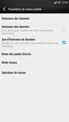 HTC One Max - Internet et roaming de données - Désactivation du roaming de données - Étape 6