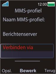 Sony Ericsson W595 - MMS - handmatig instellen - Stap 20