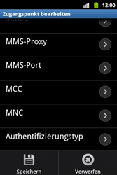 Samsung Galaxy Xcover - MMS - Manuelle Konfiguration - 14 / 17