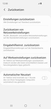 Samsung Galaxy S10e - Fehlerbehebung - Handy zurücksetzen - Schritt 8