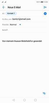 Huawei P20 - E-Mail - E-Mail versenden - 7 / 17