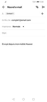 Huawei P30 lite - E-mails - Envoyer un e-mail - Étape 8