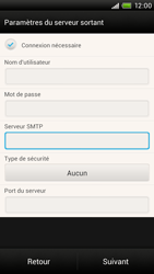 HTC One X - E-mail - Configuration manuelle - Étape 13