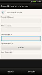HTC One X Plus - E-mail - Configuration manuelle - Étape 13