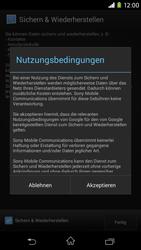 Sony Xperia M2 - Apps - Konto anlegen und einrichten - 21 / 23