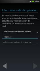 HTC One - Applications - Créer un compte - Étape 12