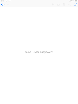 Apple iPad Pro 9.7 inch - iOS 12 - E-Mail - E-Mail versenden - Schritt 3