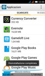 Alcatel One Touch Pop C3 - Applicazioni - come disinstallare un
