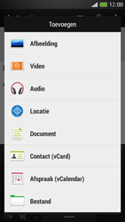 HTC One Mini - E-mail - E-mails verzenden - Stap 11