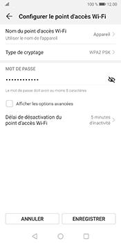 Huawei Mate 10 Pro - Android Pie - WiFi - Comment activer un point d'accès WiFi - Étape 9